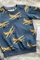 Elvelyckan Airplanes blue