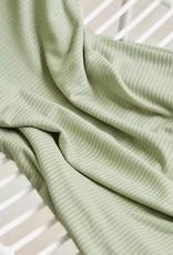 Meet milk Derby ribbed knit Soft mint