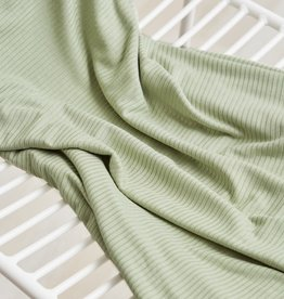 Meet milk Derby ribbed knit Soft mint