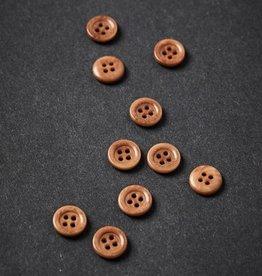 Meet milk Corozo button frame 11 mm Mustard