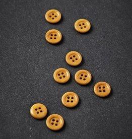 Meet milk Corozo button frame 11 mm Amber