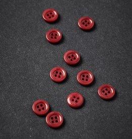 Meet milk Corozo  button frame 11 mm Berry