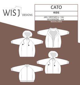 Wisj Cato jas & (Bomber)vest papieren naaipatroon