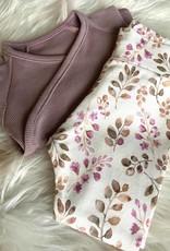 Family fabrics Purple dove rib