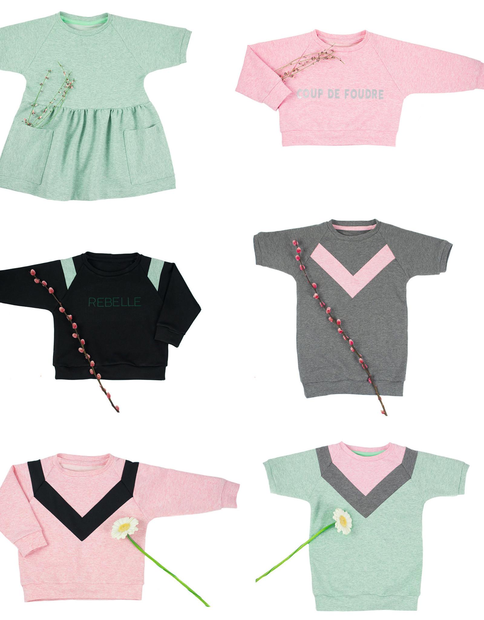 Bel' Etoile Isa jurk, sweater & top kinderen