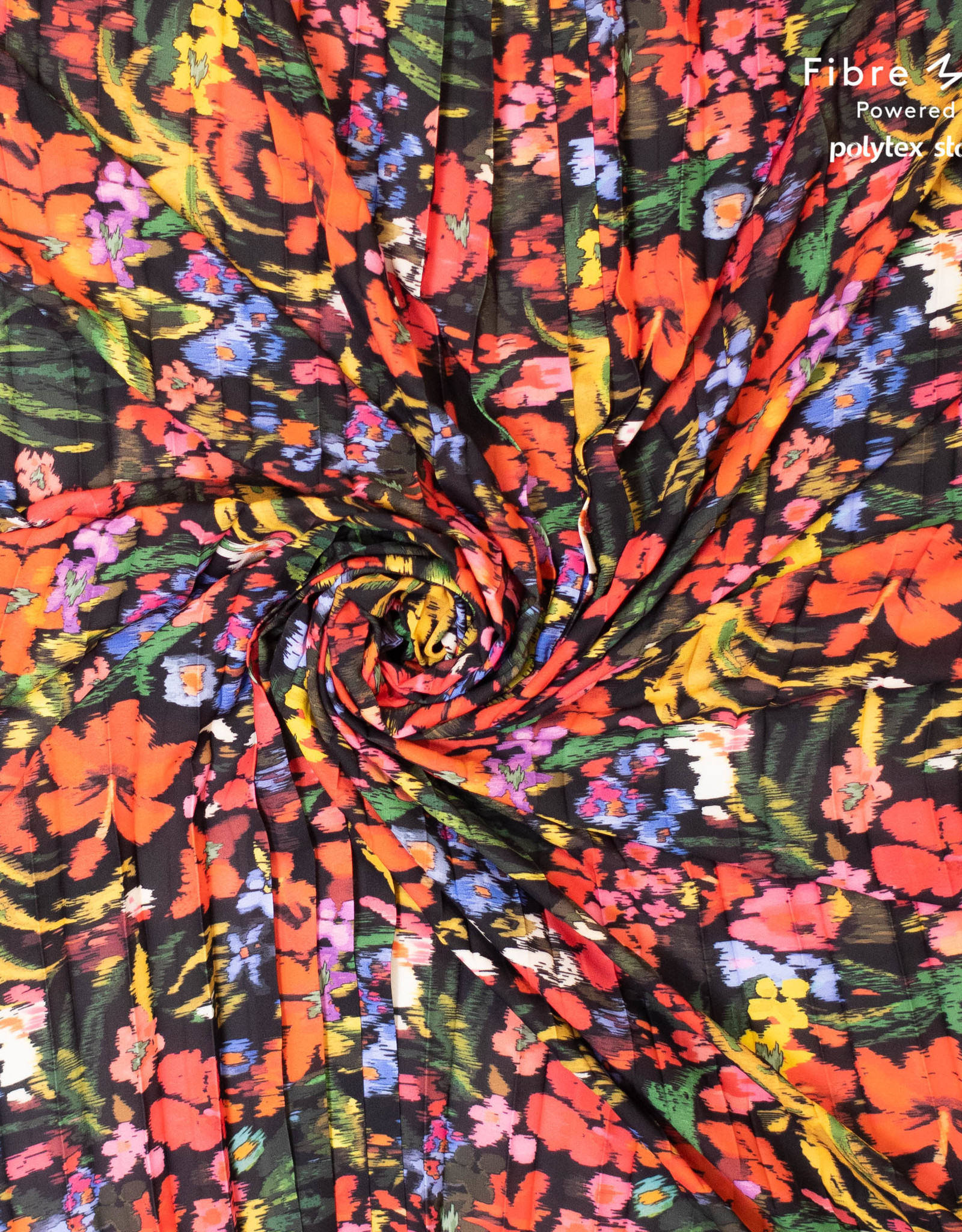 Polytex Crepe multicolor flower    Bloom & Fiona