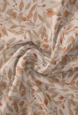 Family fabrics Blossom eggnog jersey