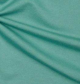Editex Uni tencel modal jersey donker mint groen