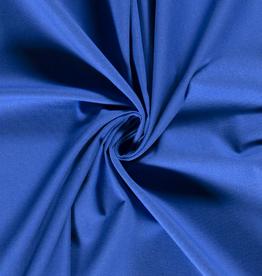 Geen merk Katoenmix effen blauw