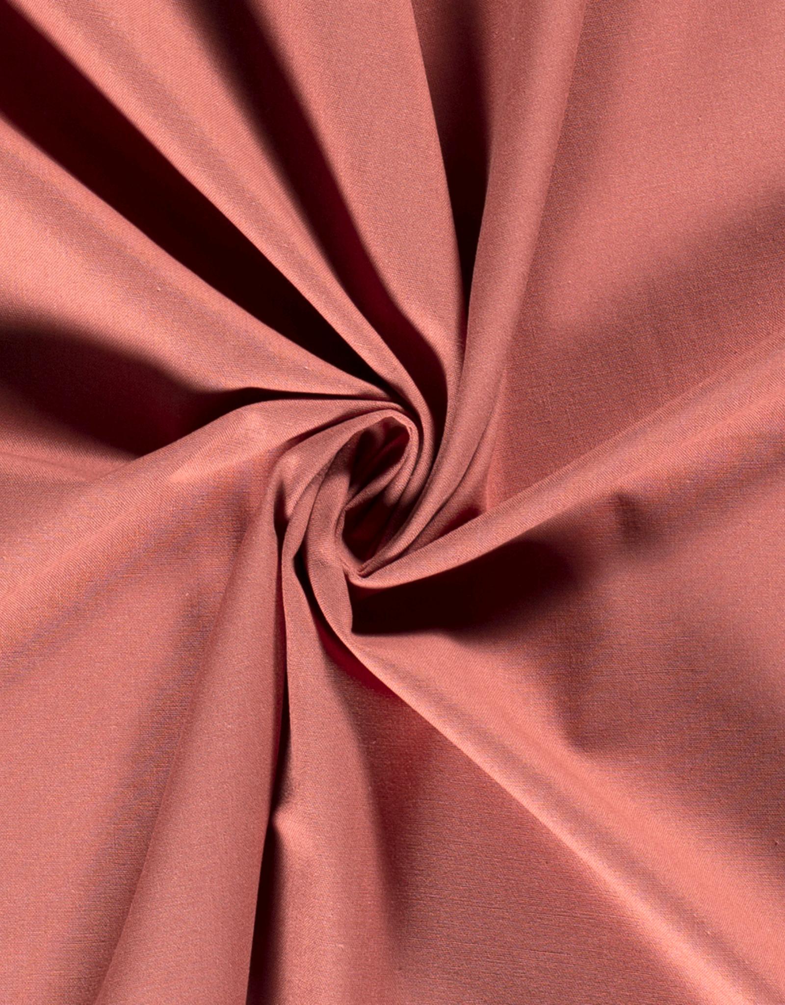 Geen merk Katoenmix roze