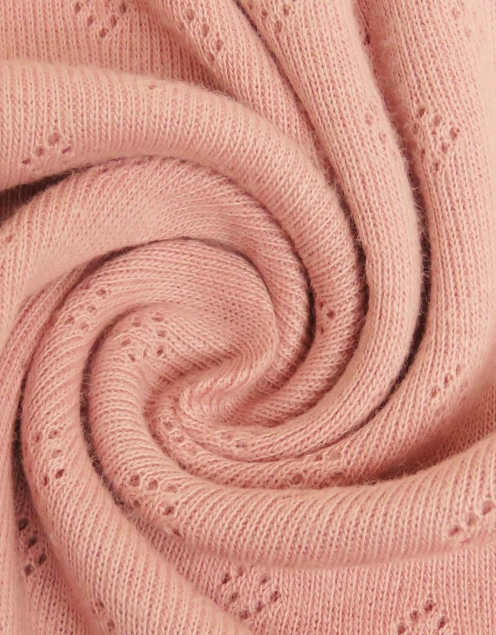 Stik-Stof Pointelle Old Rose