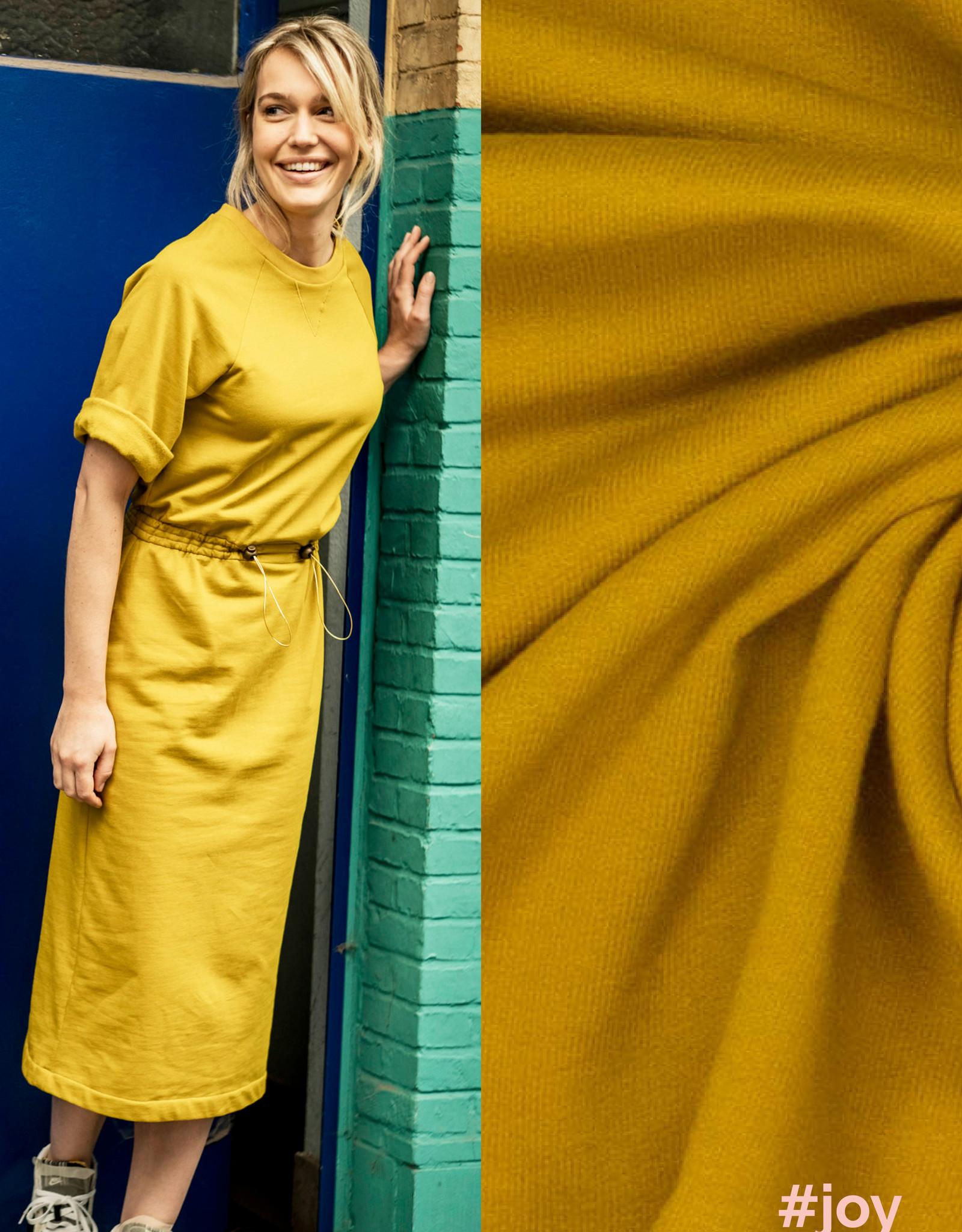 Polytex Boordstof golden Palm       Joy & Vera