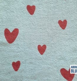 About Blue Fabrics Good vibes only - Love U too