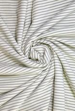 Polytex Strepen wit/groen spons