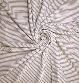 Polytex Strepen wit/grijs - spons