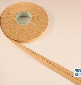 About Blue Fabrics Biais lint Indian tan 20