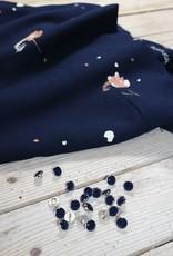 Eglantine & Zoé Knoop Chic Blue Marine
