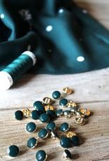 Eglantine & Zoé Knoop Chic vert sapin 10 mm