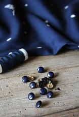 Eglantine & Zoé Knoop Shiny Bleu Atlantique 10mm