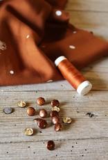Eglantine & Zoé Knoop Shiny caramel 10mm