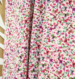 Atelier Jupe Kleine abstracte bloemen katoen stretch  COUPON 60 cm