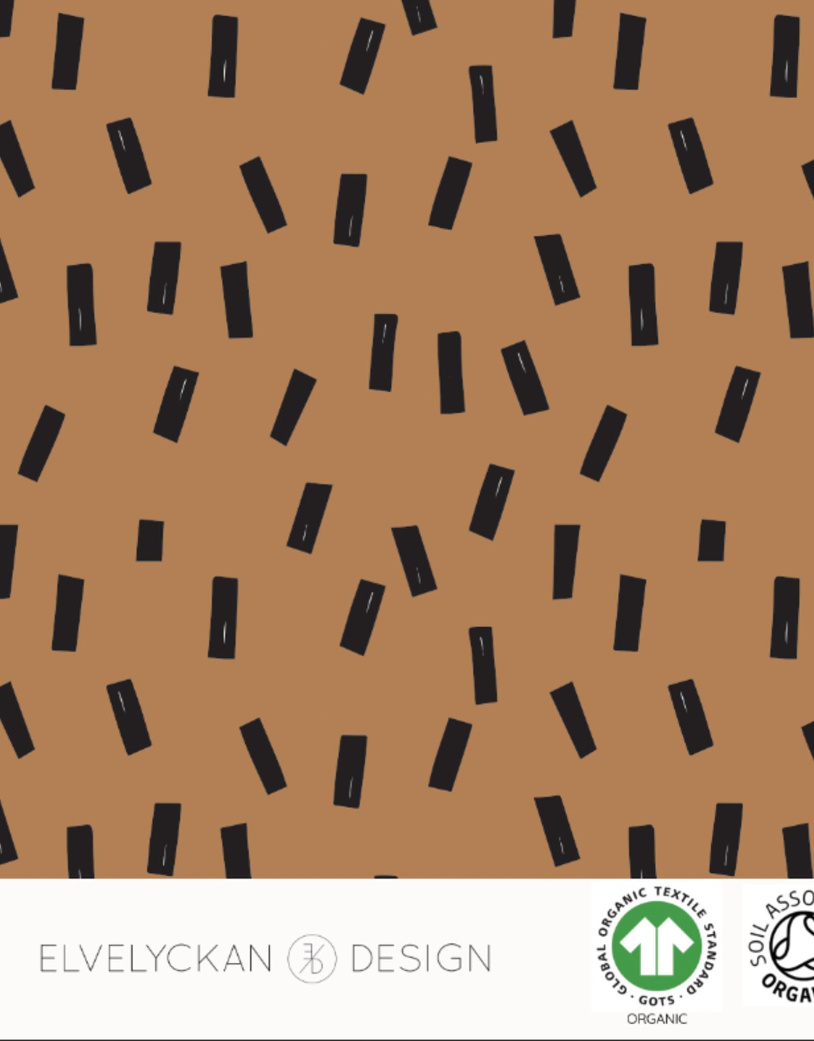 Elvelyckan Confetti - toffee