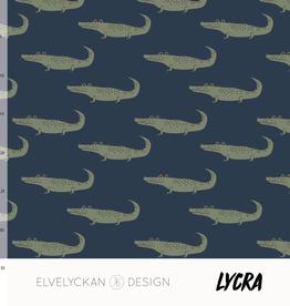 Elvelyckan Lycra - crocs - dark blue