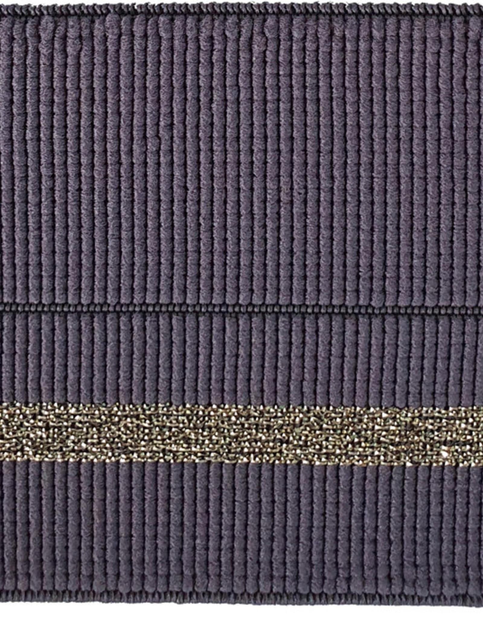 Stik-Stof Sier elastiek antraciet