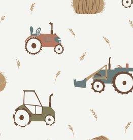 Megan Blue Tractors at work