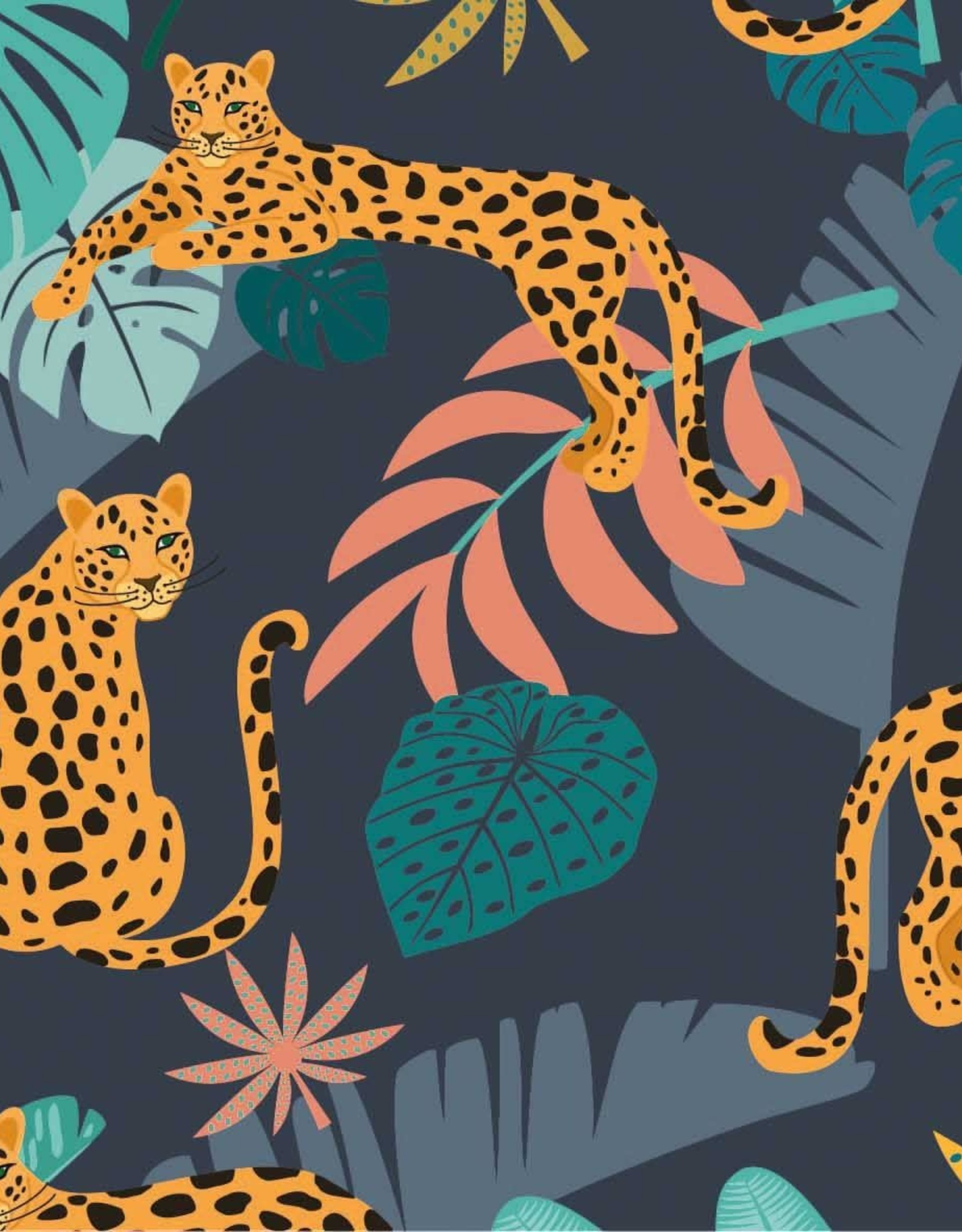 Megan Blue Panther in jungle