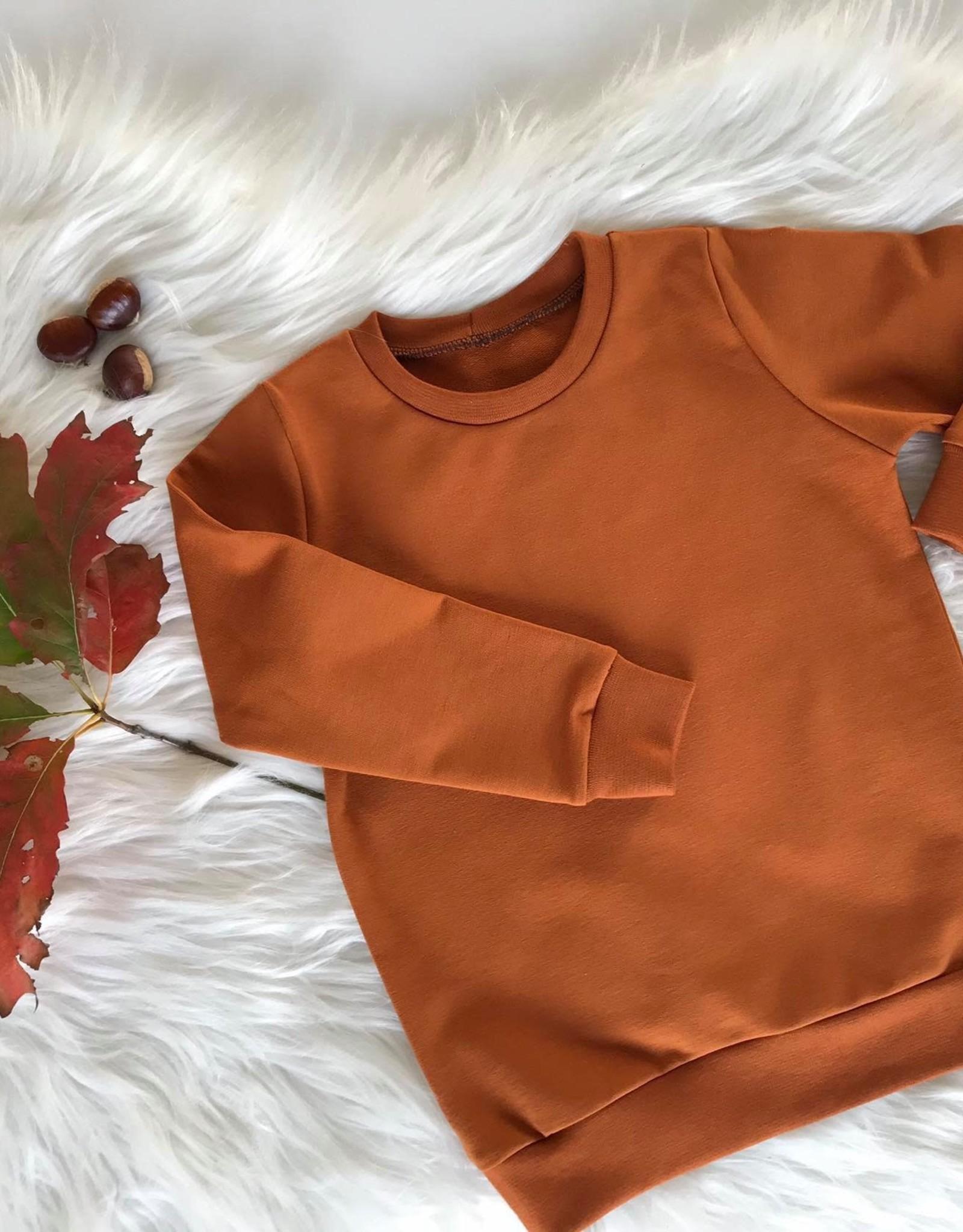 Stik-Stof Sweater cognac