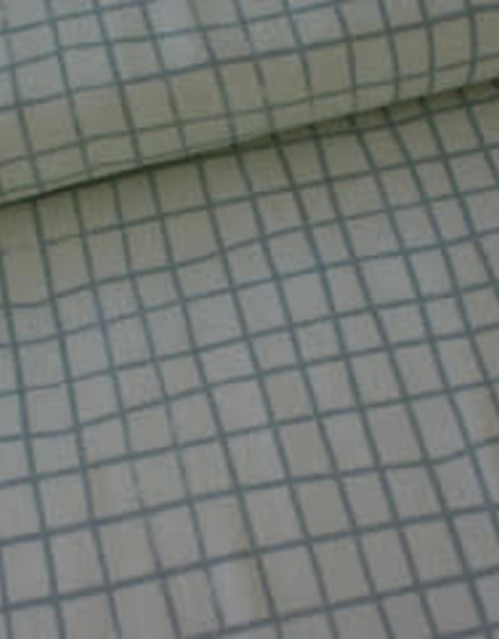 Rico Design Raster grijs tricot COUPON 40 cm