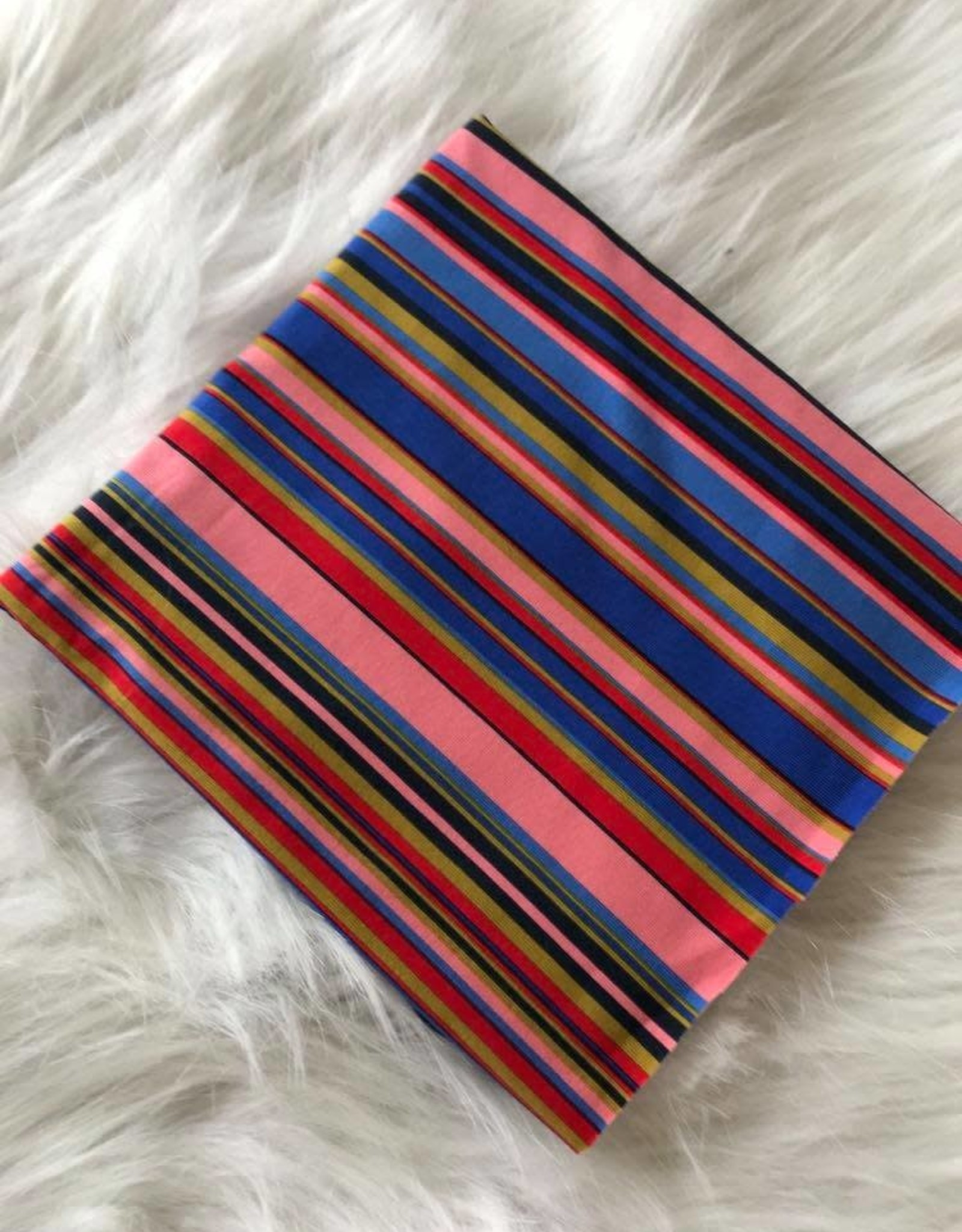 Polytex Veelkleurige strepen jersey COUPON  40 cm