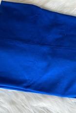 Stik-Stof Kobalt blauw COUPON 1.20m