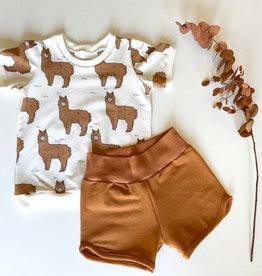 Stik-Stof Alpaca setje t-shirt en short