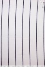 Polytex White whith black stripes