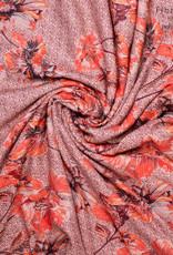Polytex Crepe flower print