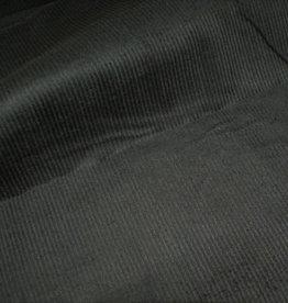 Stik-Stof Rib fluweel stretch antraciet