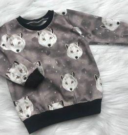 Stik-Stof Sweatshirt husky grijs