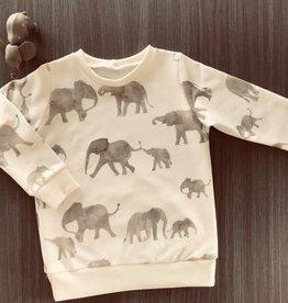 Stik-Stof Sweater olifant