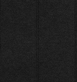 Geen merk Hydrofiel jersey  - double face - zwart