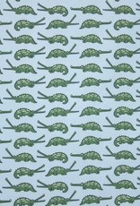 Eva Mouton Crocodille cotton