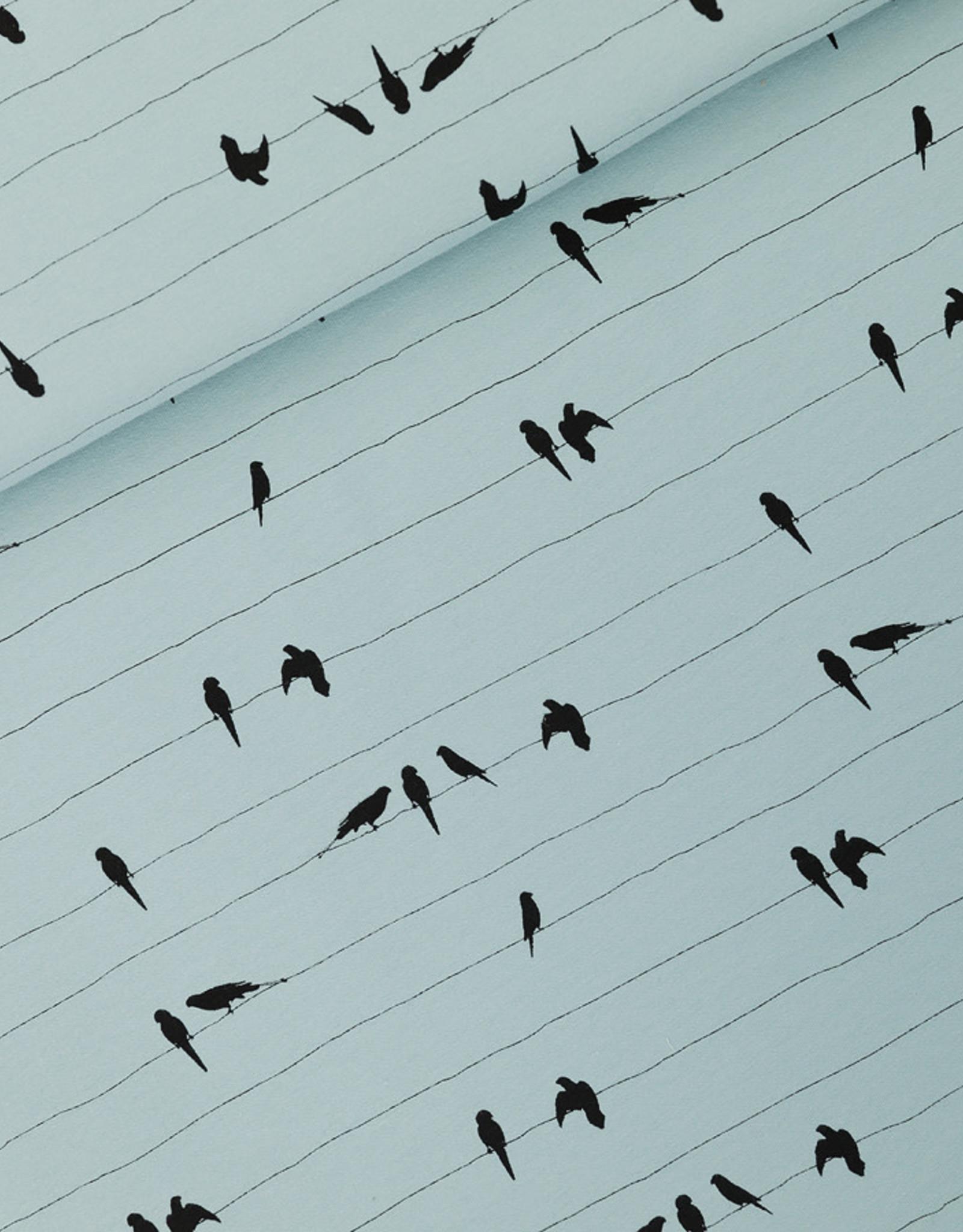 Stik-Stof Jurk korte mouw parrots