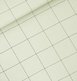 Stik-Stof Jurk zonder mouw thin grid