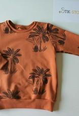 Stik-Stof Sweater Palm Trees