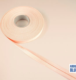 About Blue Fabrics Biais lint Dusty pink