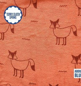 About Blue Fabrics Fox fiesta terry cloth (spons)