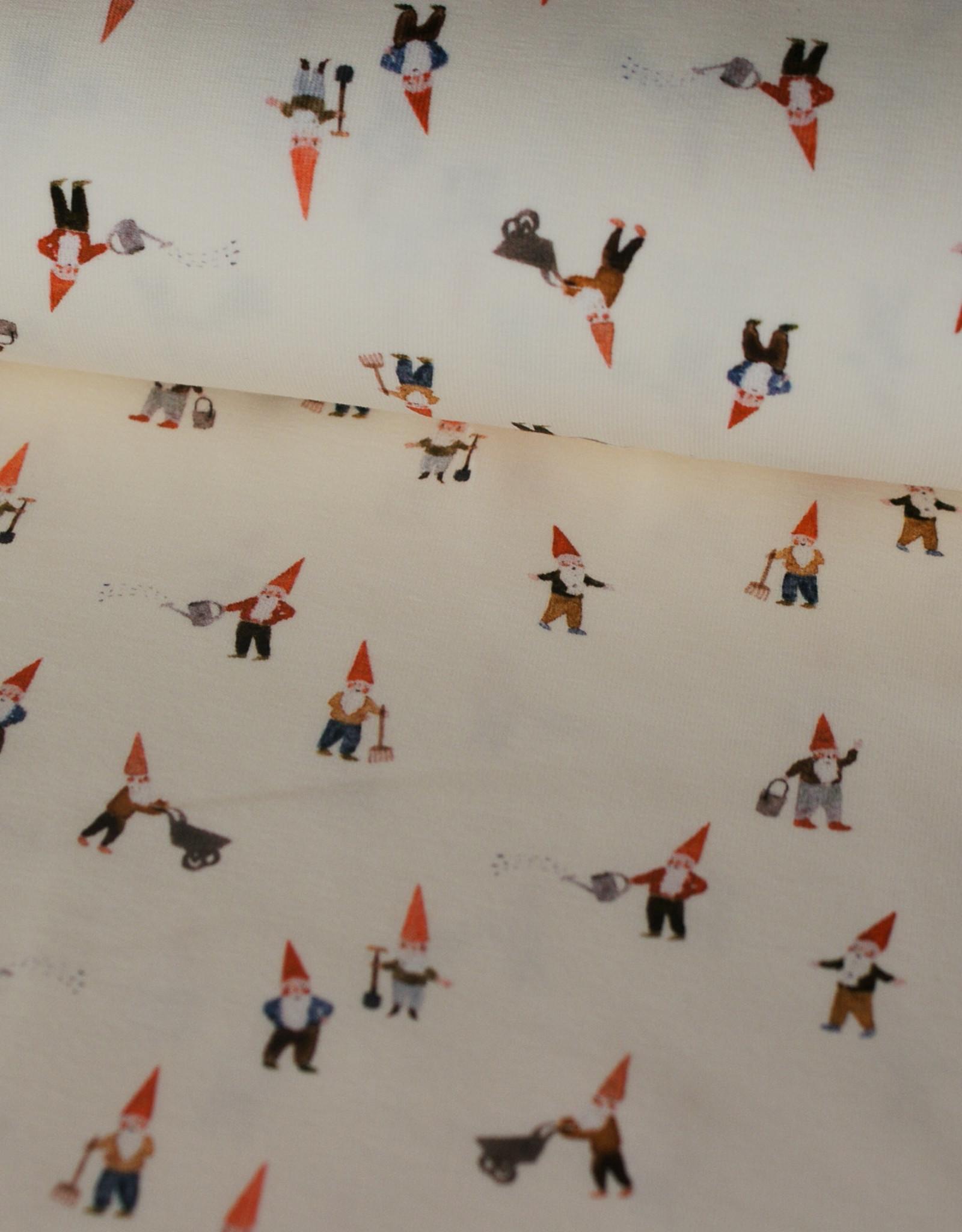 Family fabrics Gnomes Jersey