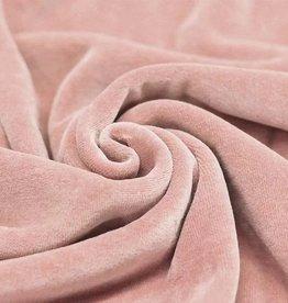 Geen merk Nicky Velours Nude Pink