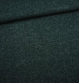 Editex Groen gebreide stof met lurex (knip mode)